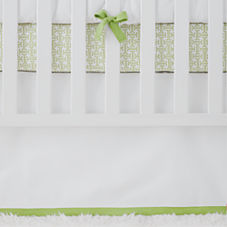 Nursery Basics Crib Skirt – Sprout