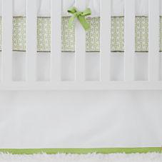 Nursery Basics Crib Skirt – Sprout