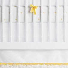 Nursery Basics Crib Skirt – Sunshine