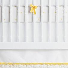 Nursery Basics Crib Skirt – Sunshine
