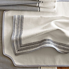 Cadiz Table Linens – Fog
