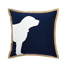 Navy Buddy Pillow Cover