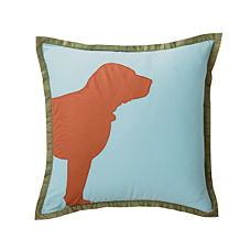 Buddy Pillow Cover – Aqua
