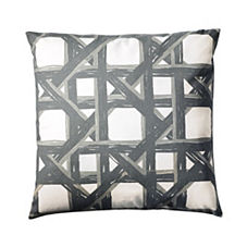 Havana Pillow Cover – Pewter