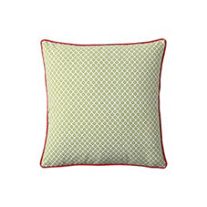 Cut Circle Pillow Cover – Grass