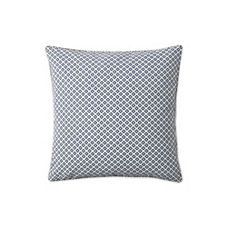 Cut Circle Pillow Cover – Navy