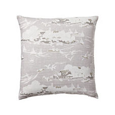 Skylake Toile Pillow Cover – Bone