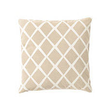 Diamond Pillow Cover – Bisque