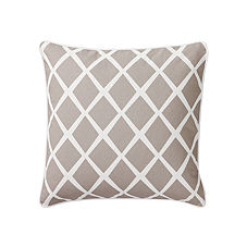 Diamond Pillow Cover – Bark