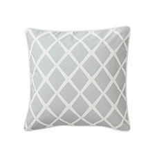 Diamond Pillow Cover – Fog