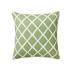 Diamond Pillow Cover – Leaf