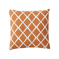 Diamond Pillow Cover – Saffron