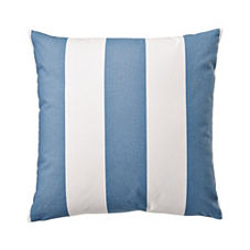 Awning Stripe Pillow Cover – Chambray