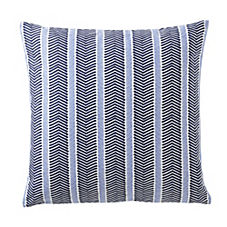 Herringbone Pillow Cover – Navy