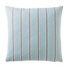 Herringbone Pillow Cover – Aqua