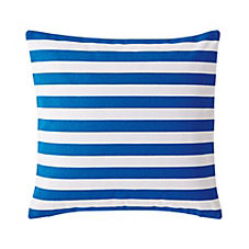 Classic Stripe Pillow Cover – Ultramarine