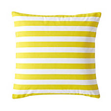 Classic Stripe Pillow Cover – Citrine