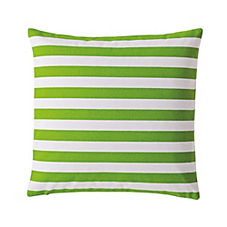 Classic Stripe Pillow Cover – Lime