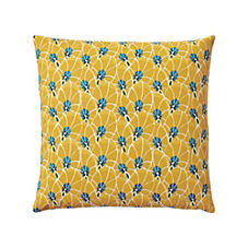 Palm Leaf Pillow Cover – Dijon