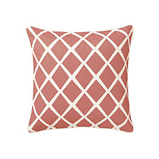 Diamond Pillow Cover – Coral