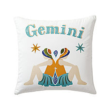 Gemini Zodiac Pillow Cover