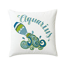 Aquarius Zodiac Pillow Cover