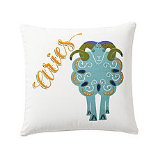 Aries Zodiac Pillow Cover