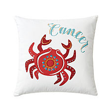 Cancer Zodiac Pillow Cover