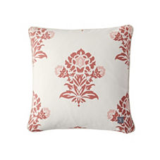 Jaipur Pillow Cover – Coral