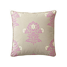 Jaipur Pillow Cover – Plum/Putty