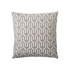 Kuba Pillow Cover – Bark