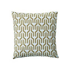 Olive Kuba Pillow Cover