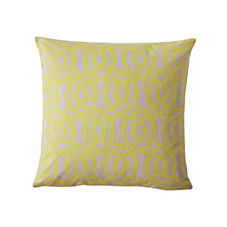 Highland Knot Pillow Cover – Chartreuse