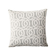 Highland Knot Pillow Cover – Fog