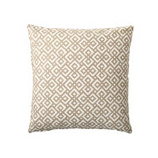 Lattice Pillow Cover – Bone