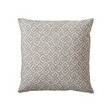 Lattice Pillow Cover – Fog