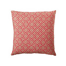Lattice Pillow Cover – Flame