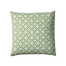 Lattice Pillow Cover – Grass