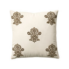 Gold Zardosi Pillow Cover