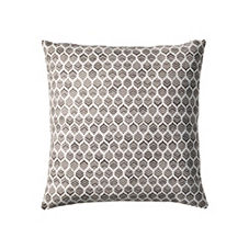 Leaf Pillow Cover – Pewter