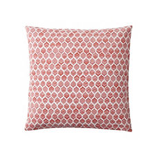 Leaf Pillow Cover – Coral