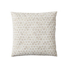 Leaf Pillow Cover – Bone