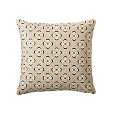 Bone Peridot Pillow Cover