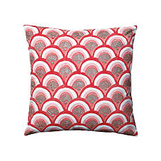 Kyoto Pillow Cover - Poppy
