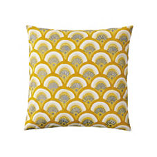 Kyoto Pillow Cover – Goldenrod