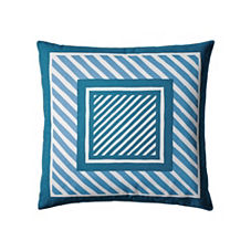 Frame Stripe Pillow Cover – Atlantic