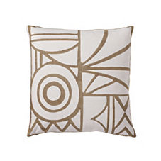 Salon Pillow Cover – Ivory