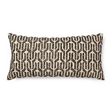 Kuba Sequined Pillow Cover – Gold