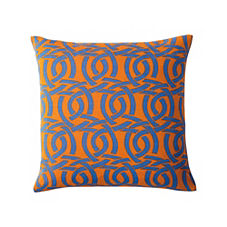 Highland Knot Outdoor Pillow – Saffron