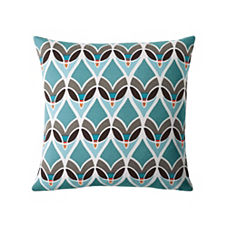 Montauk Outdoor Pillow – Turquoise